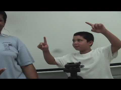 Crosspointe Elementary School   Lights, Camera Action  Tripod Set Up Demo