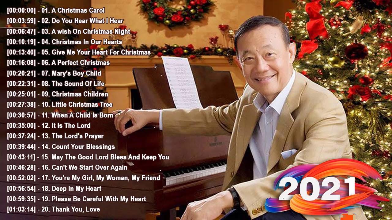 Jose Mari Chan Christmas Songs 2021 - Jose Mari Chan Best Album Christmas Songs of All Time