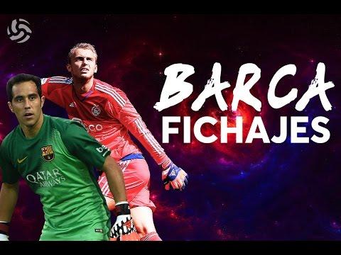 Adiós Claudio Bravo | ¡Bienvenido Cillessen! | FC BARCELONA FICHAJES