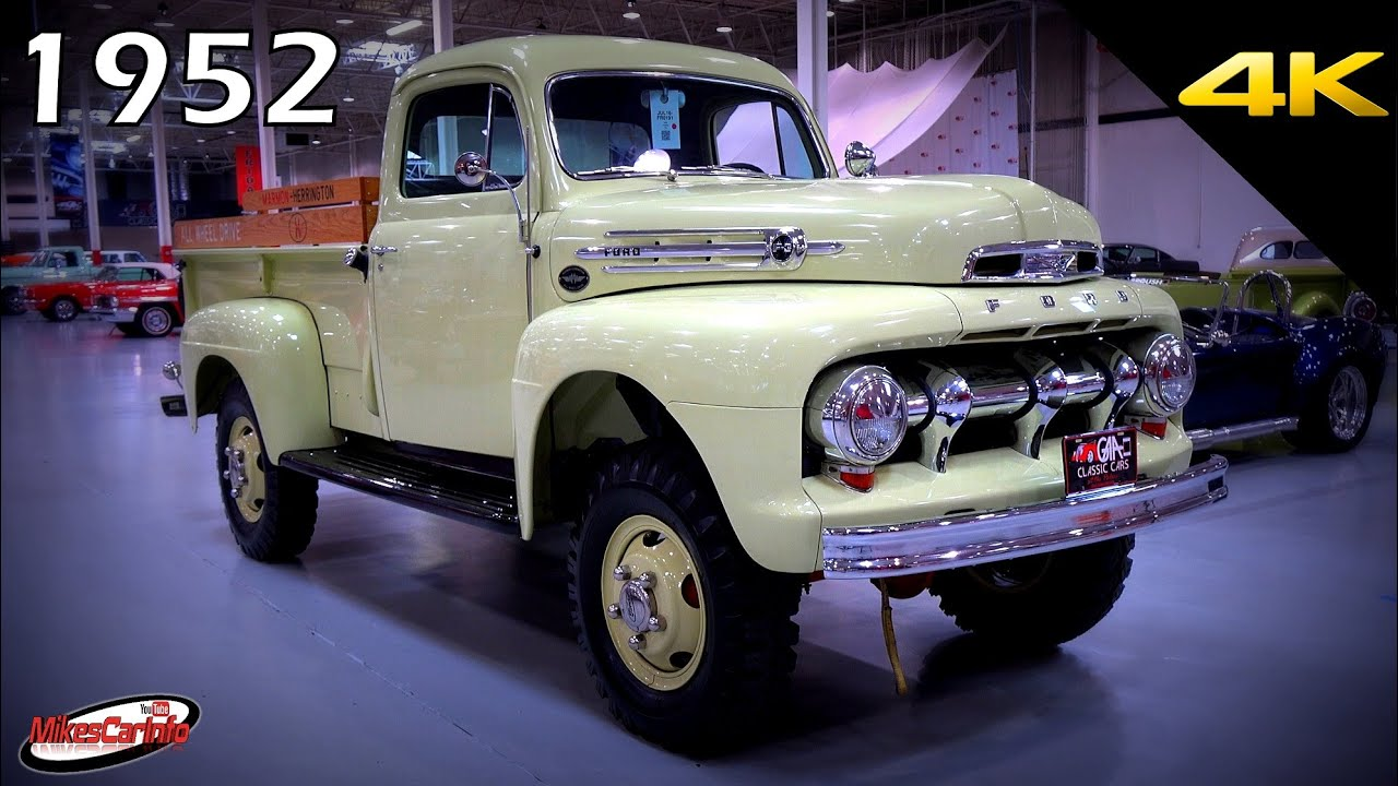 1952 Ford F3 Detailed Look In 4k Youtube 1949 F 250 4x4