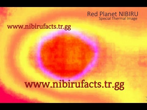RED PLANET NIBIRU*** SPECIAL THERMAL IMAGE*** 2017-PLANE FOOTAGE