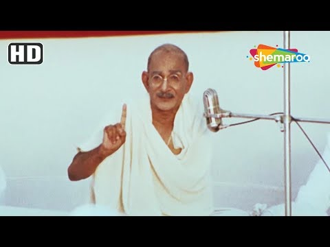 Mahatma Gandhi scene from The Legend Of Bhagat Singh - Ajay
