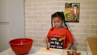 Kids! Teach Yourself To Cook: Ambrosia Fruit Salad With Cece