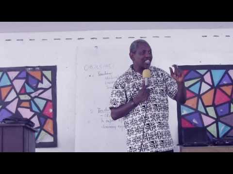 Bro Gbile - Belize Teachers' conf (Introduction)  Day1