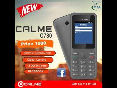 New Calme C780 Latest Bar Phone 2016