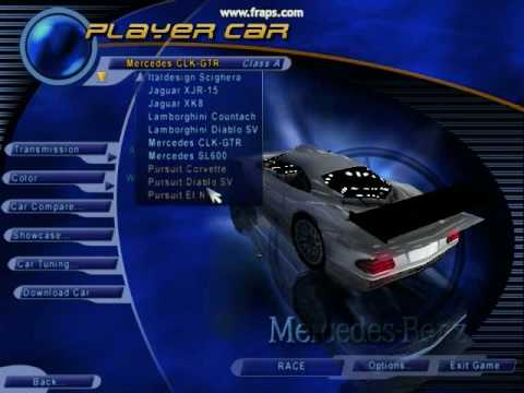 All Cars Unlocked In Nfs Iii Hot Pursuit Youtube