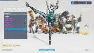 OVERWATCH - Every hero dancing with music, even Doomfist wanna…