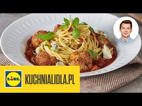 Spaghetti Z Sosem Pomidorowym I Klopsikami Karol Okrasa Kuchnia Lidla