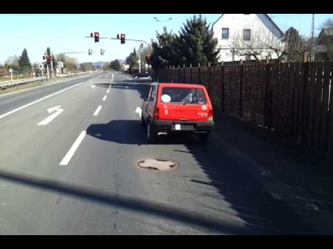 fiat panda 34 mit 25 km h zulassung youtube. Black Bedroom Furniture Sets. Home Design Ideas