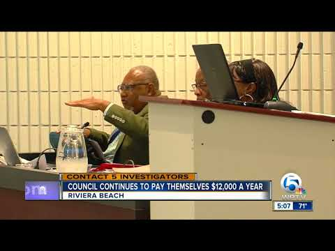Legal experts question Riviera Beach city attorney's opinion on stipend