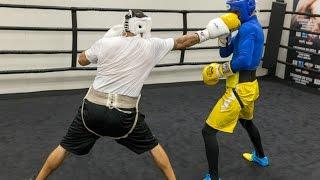 Бокс Тренировка Спарринг, Вольный Бой