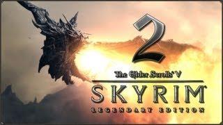 Прохождение TES V: Skyrim - Legendary Edition — #2: Во тьме