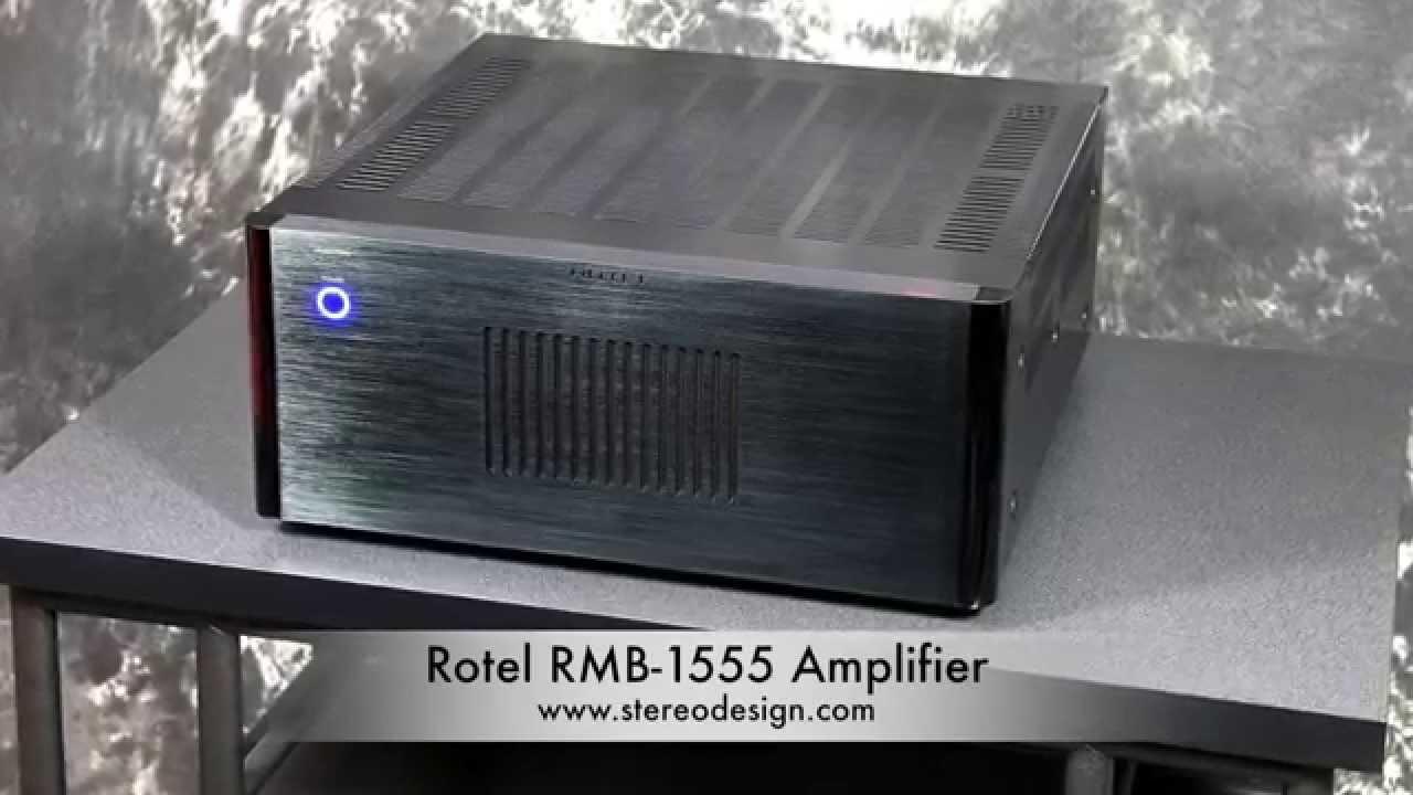 Rotel RMB-1555 Silver