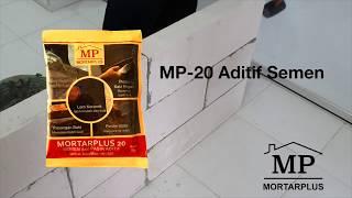MORTARPLUS MP20  - Mortar Plus 20 Bahan Aditif Campuran Semen Pasir Lebih Kuat dan Hemat Biaya