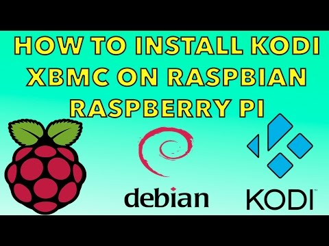 How To Install Kodi In Raspbian Jessie Raspberry pi 1 , 2  3 , Zero