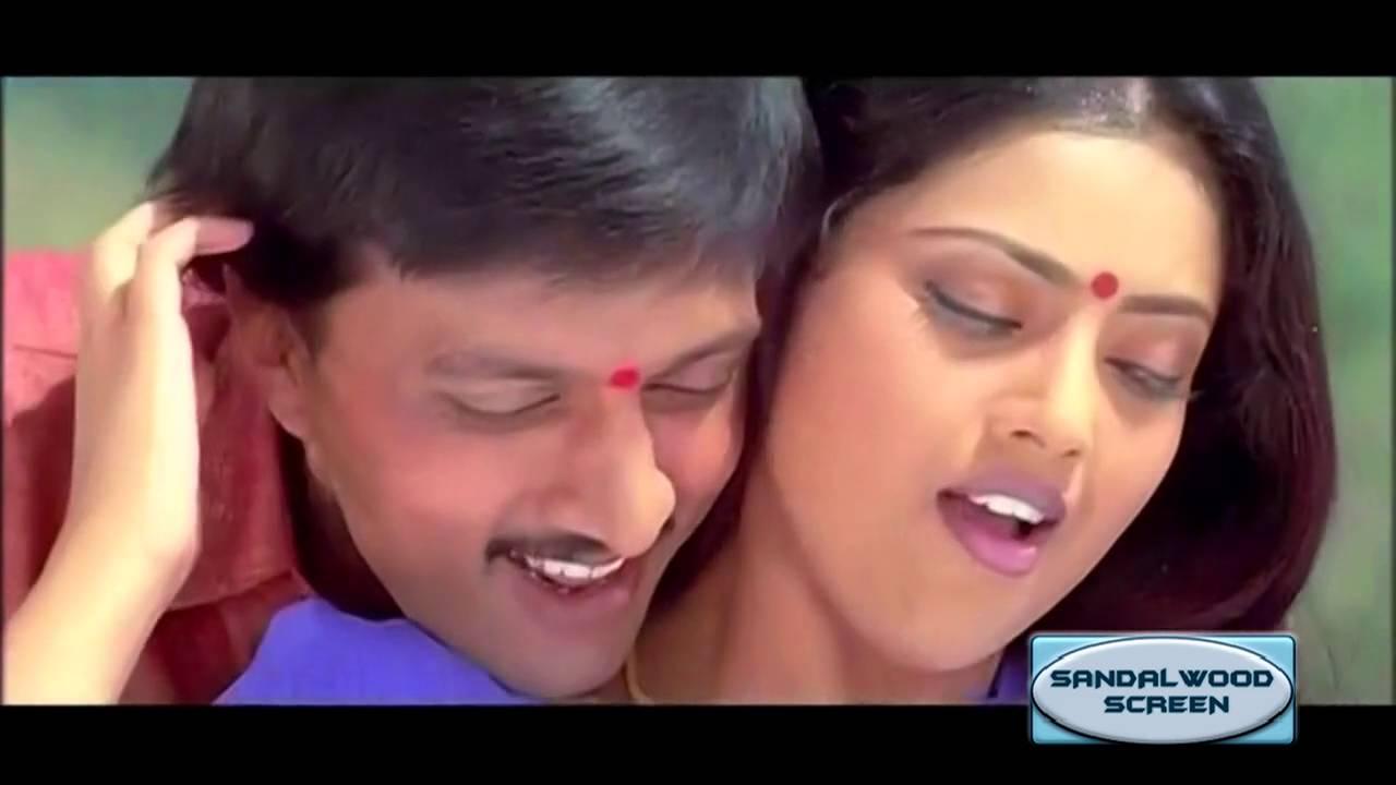 Download Swathi Mutthu Kannada Movie Video Song    Manasu Bareda    Sudeep,Meena