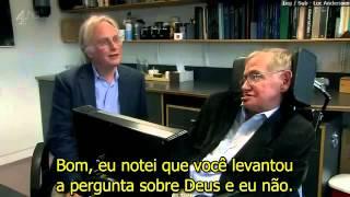 Richard Dawkins e Stephen Hawking LEGENDADO)
