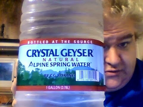 Crystal Geyser natural Alpine Spring Water (Dollar Tree bottled water review)
