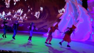 "Шоу ""Белоснежка""   Ледовый театр на площади революции  02.01.2017"