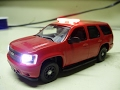 Custom 1:43 Virginia Beach Fire Department Chevy Tahoe PPV with working lights