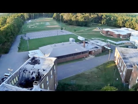 Latrax Alias/Mobius Action Cam Mission #3 - Gibsonville Elementary Schools.. The New and the Old