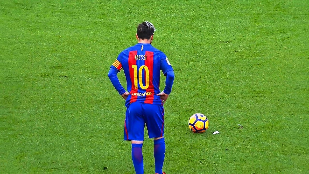 lionel messi top 15 free kick goals ever hd 1080i amp pure