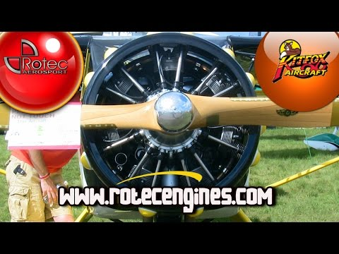 Rotec Radial Engines, Rotec R2800, Rotec R3600 radial