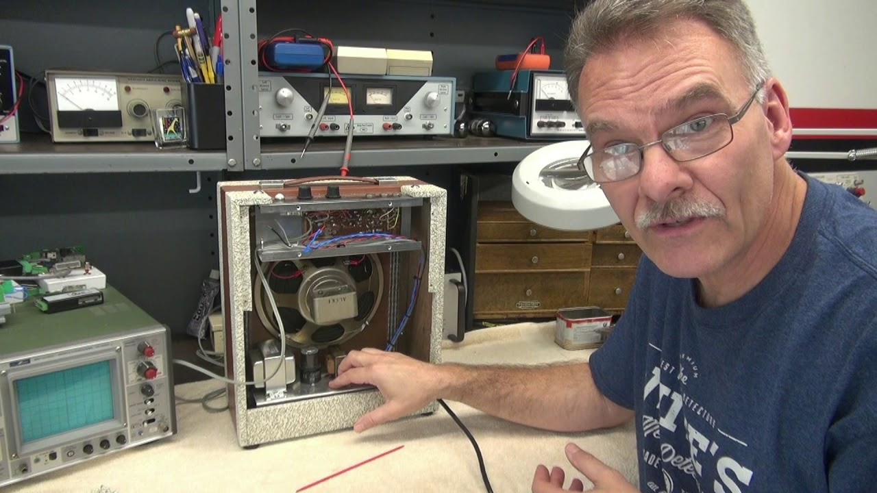 How to repair Hot Chassis Guitar amplifiers Tube Amp Theater D-lab