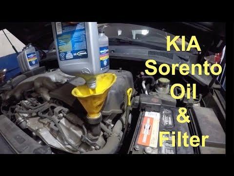 How to change Oil & Filter on 2007 Kia Sorento