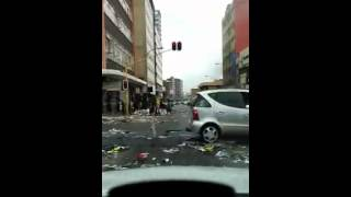 Driving through Johannesburg cbd today. The City of gold under ANC GOVERNMENT