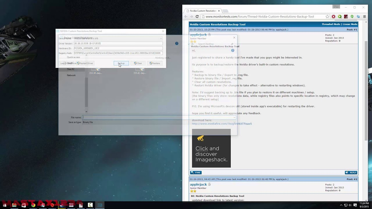 How to get custom resolutions working on Windows 10 [Nvidia users]