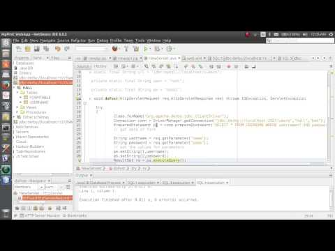 Java Web Project Using Jsp Servlet Html Mysql And Ne