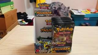 Pokemon Lost Thunder Booster Box Opening Part 2 (Pokemon of the north winds)