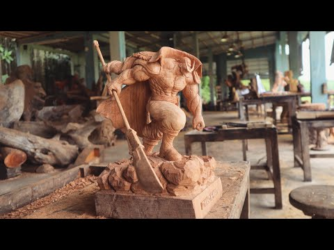Wood Carving - One Piece: Whitebeard [ワンピース]