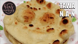 Tawa Naan Recipe | Naan Bread | Homemade Naan | Naan Recipe without Tandoor | Naan Bread Pan