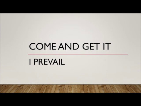 I Prevail - Come & Get It (Lyrics)