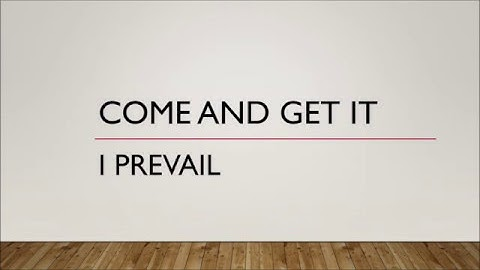 i prevail  come  get it lyrics