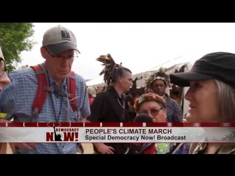 DemocracyNow!'s Special Coverage of the People's Climate March, 29APR2017