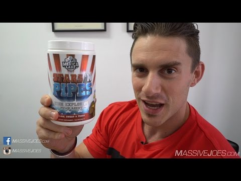'Merica Labz Stars 'N Pipes Pre-Workout Pump Supplement Review - MassiveJoes.com Raw Review
