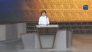 Laura Bush speaks at the opening of African American Museum of History full speech 9/24/16