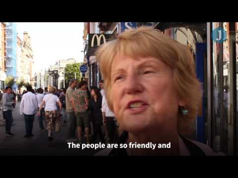 What tourists and visitors to Dublin think of Ireland