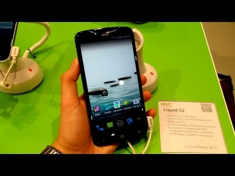 Hands-On: Acer Liquid S2   SwagTab