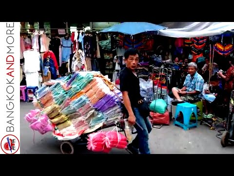 Bobae Market Bangkok @ 6 am - The Cheapest Clothes Shopping