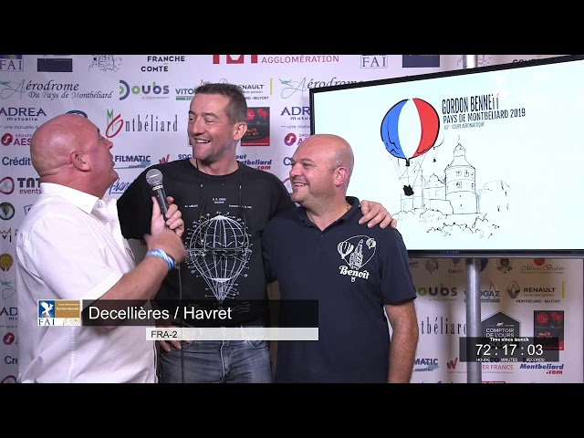 Monday night update with Benoît Pelard - 63rd Coupe Aéronautique Gordon Bennett 2019