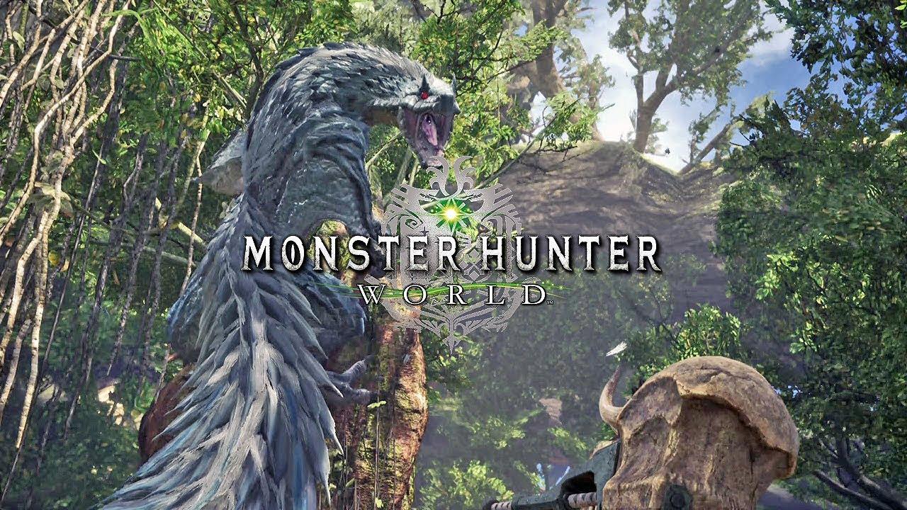 Monster Hunter World 4k Wallpaper: Tobi-Kadachi Hunt Gameplay 1080p