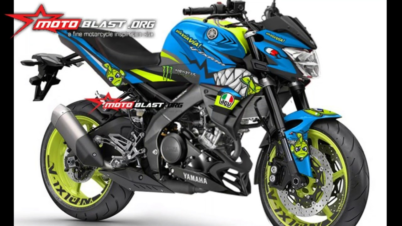 Kumpulan Modifikasi Stiker New Yamaha Vixion R Youtube