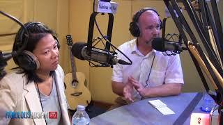 Part 2 - PAUL KAYE - HM British Consul in Bangkok Thailand - visits Fabulous 103FM Pattaya