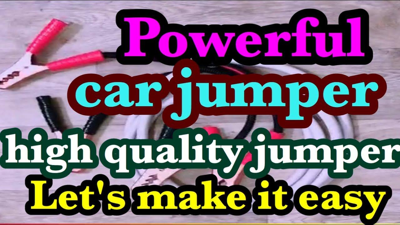#Powerful car jumper