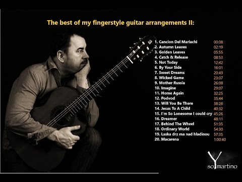 THE BEST OF MY FINGERSTYLE GUITAR ARRANGEMENTS  Volume 2
