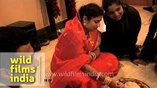 Bengali wedding ceremony - Bou Bhaat